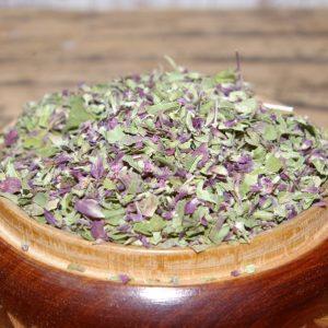 Natūrali ekologiška raudonėlių arbata
